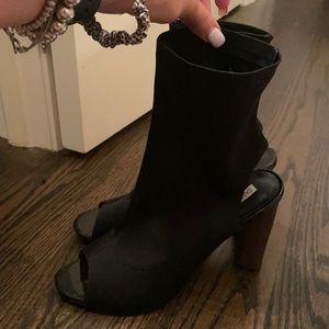 Cape Robbin open toe shoe booties